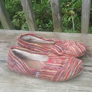 Sweater knit Tom's Multicolor Size 8.5W